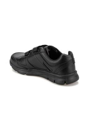 Kinetix Kadın Siyah Cırtlı Günlük Spor Ayakkabısı 2