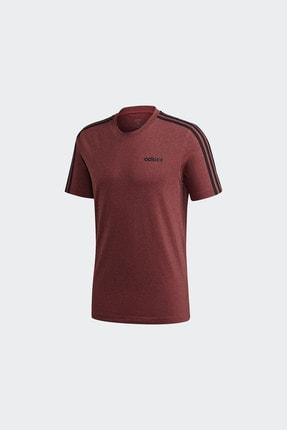 adidas Erkek Kırmızı Günlük Giyim T-shirt E 3s Tee Gd5372 4