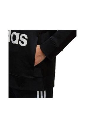 adidas Kadın Siyah Ce2408 Trefoıl Hoodıe Sweatshirt 4
