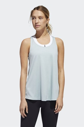 adidas TUNIC TANK Mavi Kadın Kolsuz T-Shirt 101118207 0