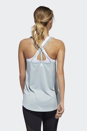 adidas TUNIC TANK Mavi Kadın Kolsuz T-Shirt 101118207 2