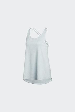 adidas TUNIC TANK Mavi Kadın Kolsuz T-Shirt 101118207 4