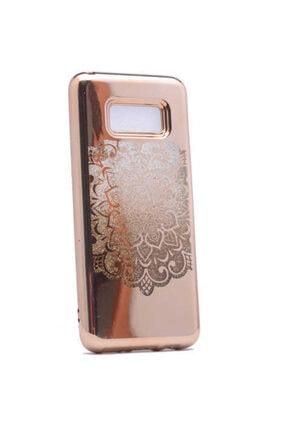 Dijimedia Galaxy S8 Kılıf Lazer Çiçekli Sıvılı Silikon 0
