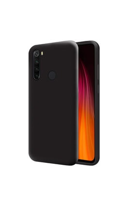 Mobilteam Xiaomi Redmi Note 8 Siyah İçi Kadife Lansman Kılıf 0