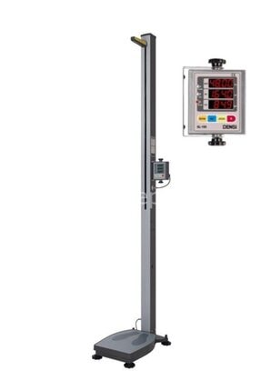 DENSİ Gl-150 200 Kg. Otomatik Bmı Boy Ölçer Baskül 0