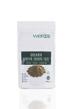 Wefood Organik Kenevir Tohumu Tozu 100 gr 0
