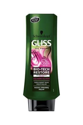 Gliss Bio-Tech Restore Güçlendirici Saç Kremi 360 ml 0