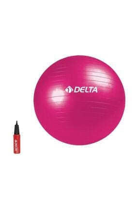 Delta 75 cm Fuşya Deluxe Pilates Topu 0