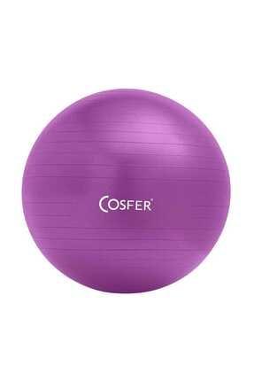 Cosfer Csf-Mr Pilates Topu 55 cm Mor 0