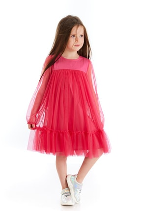 Colorinas Scarlett Tütü Elbise Fusya 2