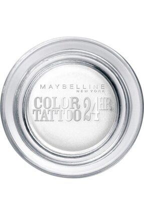 Maybelline New York Eyestudio 24 Hr Color Tattoo Gel Cream Eyeshadow 45 Infinite White 0