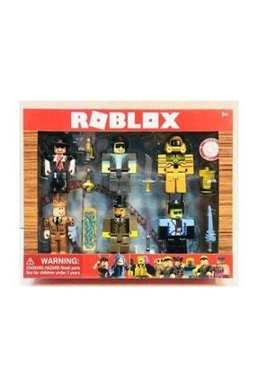 Roblox Oyuncak 6 Figür 13 Parça Xl Büyük Boy Oyun Seti 0