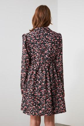 TRENDYOLMİLLA Çok Renkli Çiçek Desenli Elbise TWOAW21EL2013 3