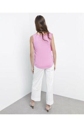 İpekyol Kadın Pembe Askı Detaylı Tshirt 3