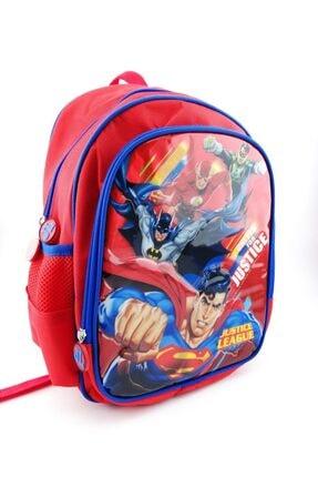 Hakan Çanta Lisanslı Supermen Karakterli İlkokul Sırt Çantası 0