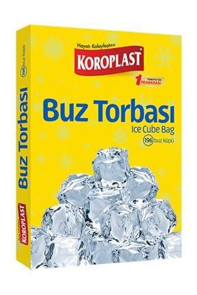 Koroplast Buz Torbası 196 Adet Buz Küpü 0