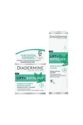 Diadermine Lift+ Botology Kırışıklık Karşıtı Gündüz Kremi +Kırışıklık Karşıtı Göz Kremi 0