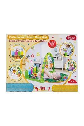 Babies Piyanolu Oyun Halısı Sevimli Orman 1