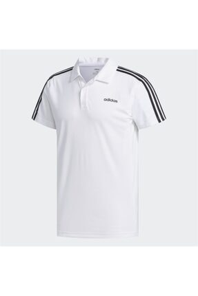 adidas M D2M 3S PO +/1 Beyaz Erkek T-Shirt 100547714 0