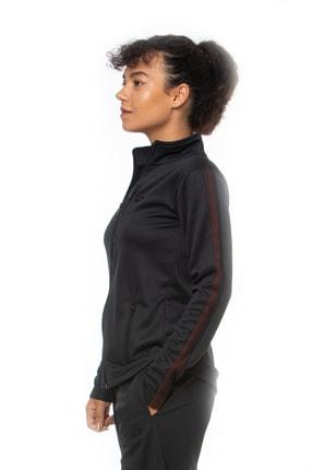 Lotto Sweatshirt Kadın Siyah-fleece Sweat Fz Pl W-r9646 1