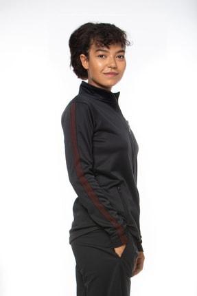 Lotto Sweatshirt Kadın Siyah-fleece Sweat Fz Pl W-r9646 2