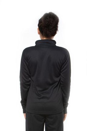 Lotto Sweatshirt Kadın Siyah-fleece Sweat Fz Pl W-r9646 4
