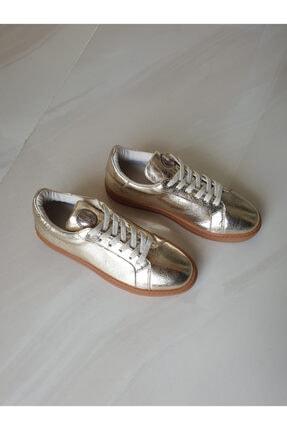 TOPUKLA 88 77 Spor Taban Hakiki Deri Bağlı Ayakkabı 0