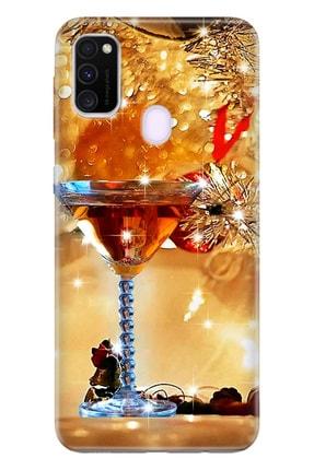 Cekuonline Samsung Galaxy M21 Kılıf Temalı Hd Desenli Silikon - Özel Gün 0