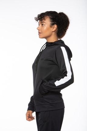 Lotto Sweatshirt ;kadın ;siyah-fleece Sweat Fz Hd Pl W-r9642 3
