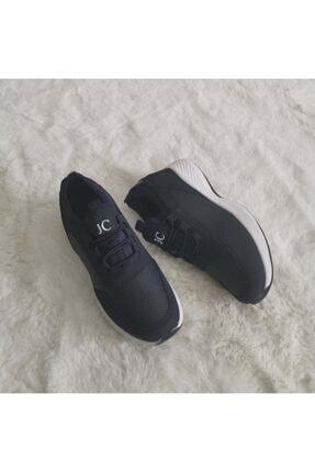 Gezer Yeni Sezon Aqua Ortopedik Ipli Lastikli Bayan Yürüyüş Spor Ayakkabı Sneaker 2