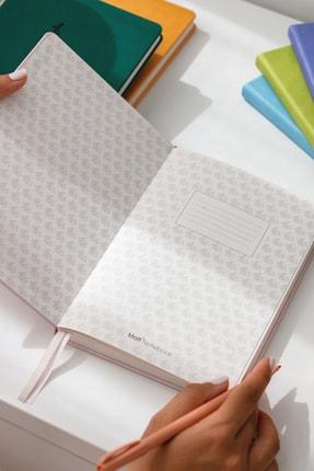 Matt Notebook A5 Antibakteriyel Defter Noktalı Açık Yeşil 2