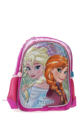 Koton Kız Çocuk Pembe Elsa Figürlü Sırt Çantası 1