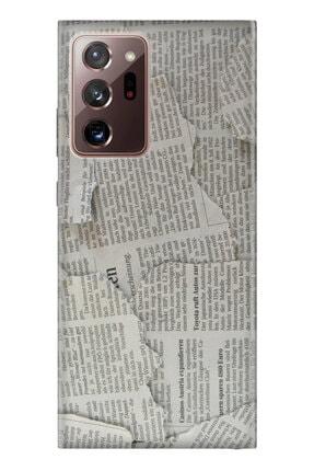 Cekuonline Samsung Galaxy Note 20 Ultra Tıpalı Kamera Korumalı Silikon Kılıf - Gazete News 0