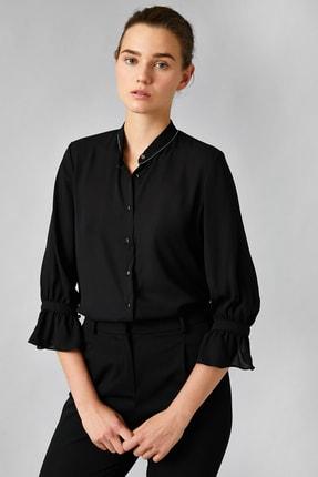 Koton Kadın Siyah Gömlek 0KAK68446PW 0