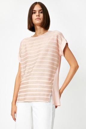 Koton Kadın Pembe T-Shirt 0YAK13167EK 1