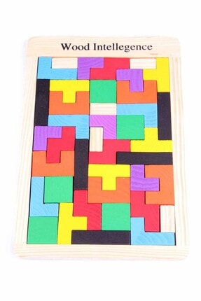 Learning Toys Ahşap Blok Tetris Zeka Oyunu 0