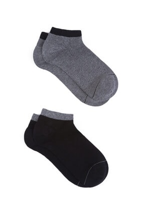 Mavi 2li Patik Çorap Seti 0