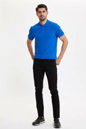 Defacto Erkek Siyah Slim Fit Chino Pantolon M7089az.20sp.bk27 1