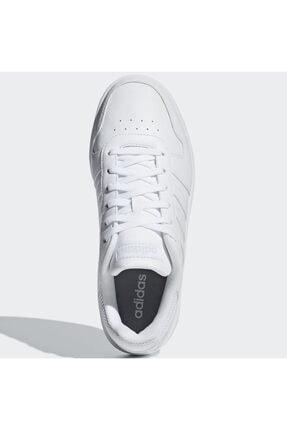 adidas HOOPS 2.0 Beyaz Kadın Sneaker Ayakkabı 100402598 1