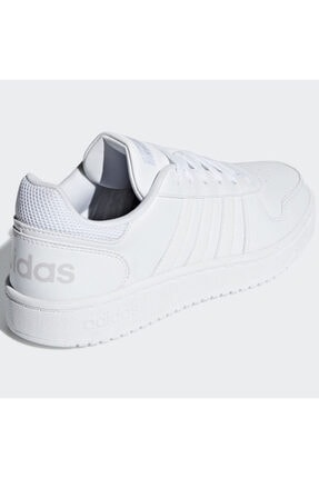adidas HOOPS 2.0 Beyaz Kadın Sneaker Ayakkabı 100402598 3