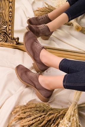 Soho Exclusive Vizon Süet Kadın Casual Ayakkabı 15541 0