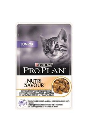 Proplan Pouch Junior Tavuklu Yaş Kedi Maması 85 gr 0