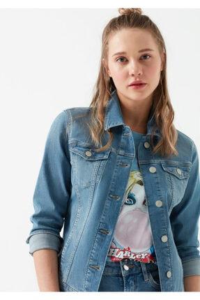 Mavi Kadın Daisy Vintage Açık  Jean Ceket 1113623511 0