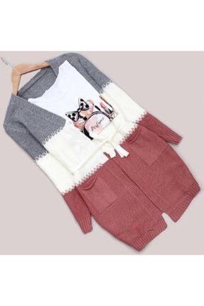 Cadde Giyim Bayan Örgü Ceket 0