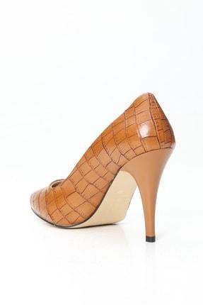 Ayakkabı Modası Kadın Kahverengi Topuklu Ayakkabı 2