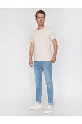 Koton Erkek Brad Slim Fit Jean Pantolon 0