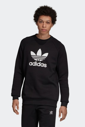 adidas Erkek Spor Sweatshirt - Trf Flc Crew 2