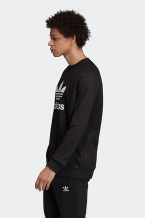 adidas Erkek Spor Sweatshirt - Trf Flc Crew 3