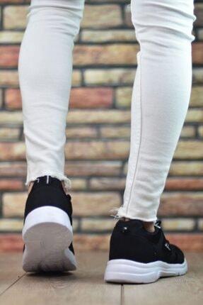 Marsetti Unisex Siyah Spor Ayakkabı 3