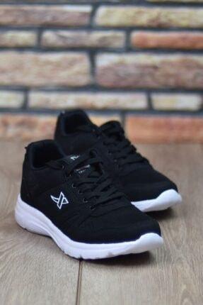 Marsetti Unisex Siyah Spor Ayakkabı 4
